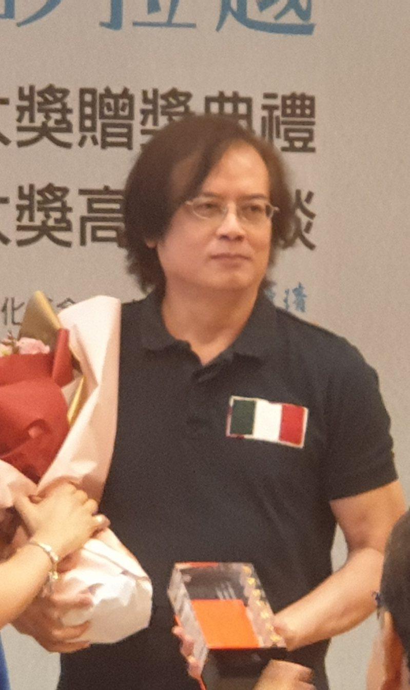 小說家張貴興。記者陳宛茜/攝影