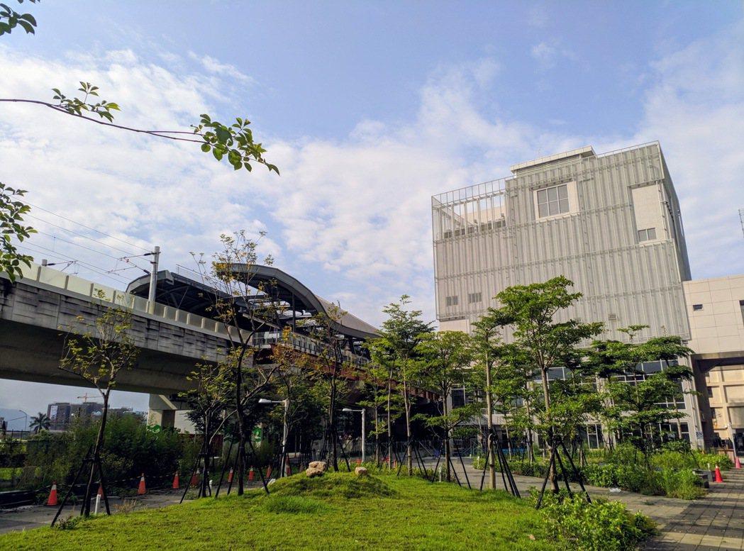 台中捷運綠線將通車,統計動工以來,沿線有11站房價漲幅逾兩成。圖/台灣房屋