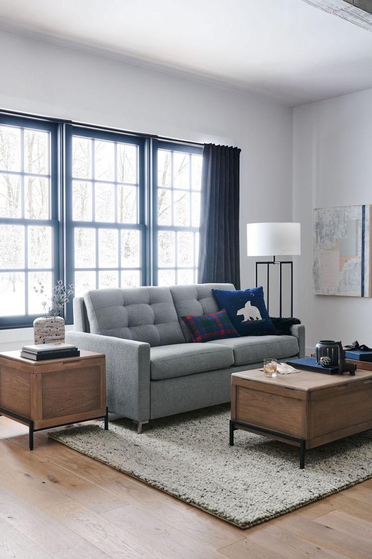 運用大自然中藍、白和灰等寧靜感色澤,呈現摩登現代風格。圖/Crate and B...
