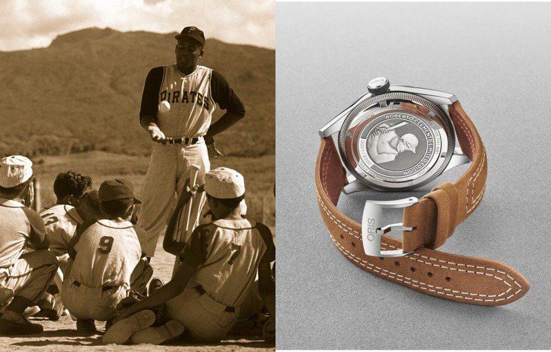 ORIS推出新款Roberto Clemente,向一代美國名人堂球星致意。圖 / 翻攝自ig。