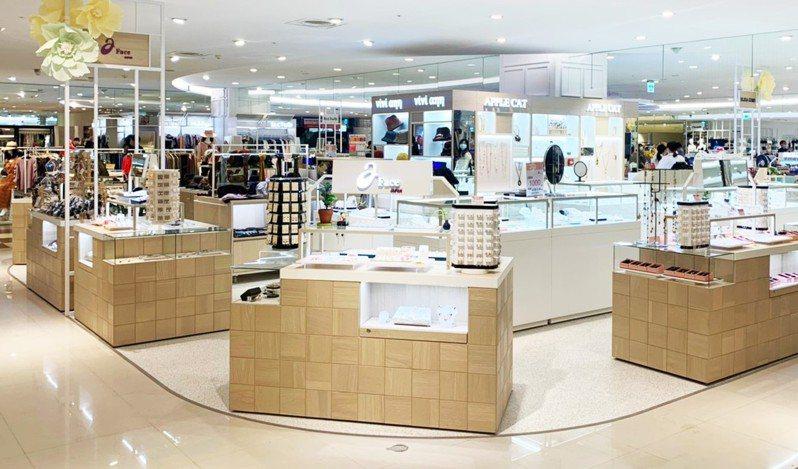 新竹SOGO百貨3F改裝開幕—輕生活市集。圖/業者提供