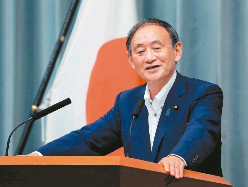 日本官房長官菅義偉在自民黨主席補選勝出,將成為日本新首相。歐新社