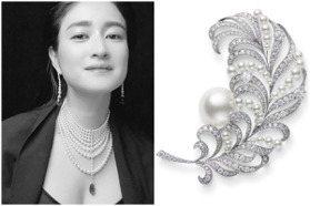 用絕美珍珠打造羽毛!MIKIMOTO頂級珠寶好夢幻