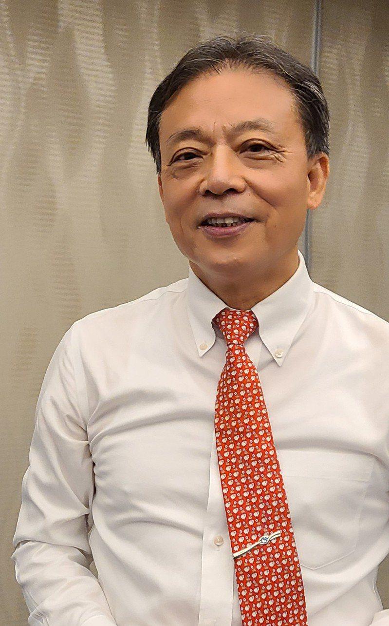 晶技董事長林萬興。記者何佩儒/攝影