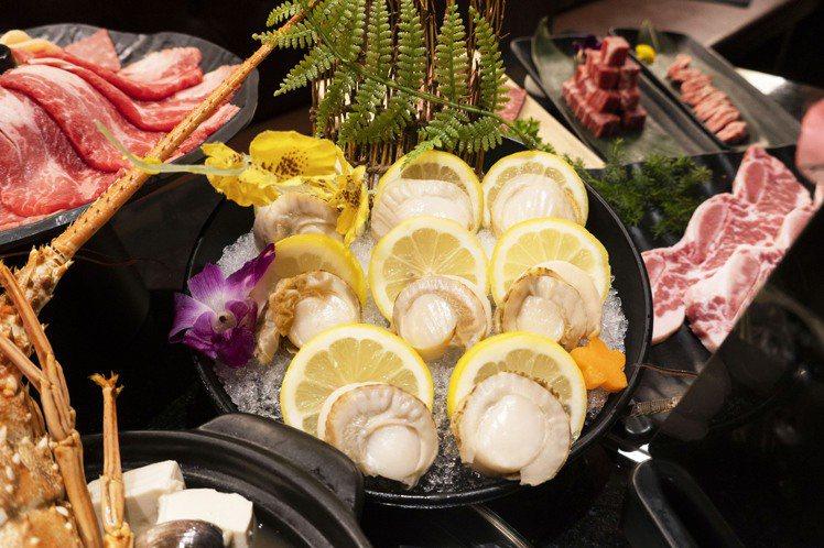 哞哞屋推出「免費升級北海道巨大帆立貝」的優惠。圖/哞哞屋提供