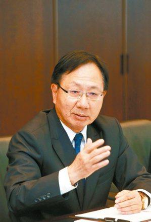 華南銀行總經理張振芳。記者鄭超文/攝影