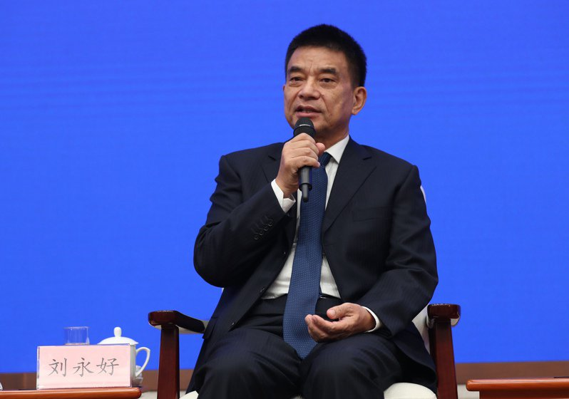 新希望集團有限公司董事長劉永好。(中新社)