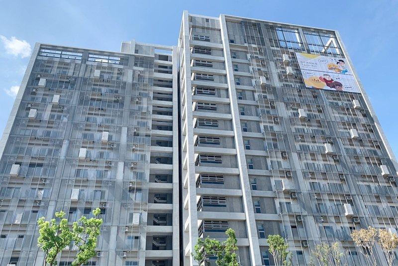 台中社會住宅「太平育賢好宅」。 圖/台中市勞工局提供