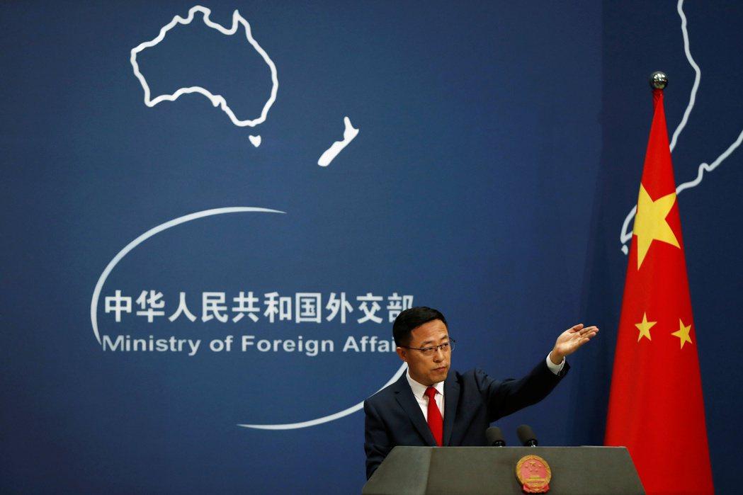 8月中旬古特瑞斯發言評論美中關係後,次日中國外交部發言人趙立堅便呼應古特瑞斯發言,再度大肆數落美國。 圖/路透社