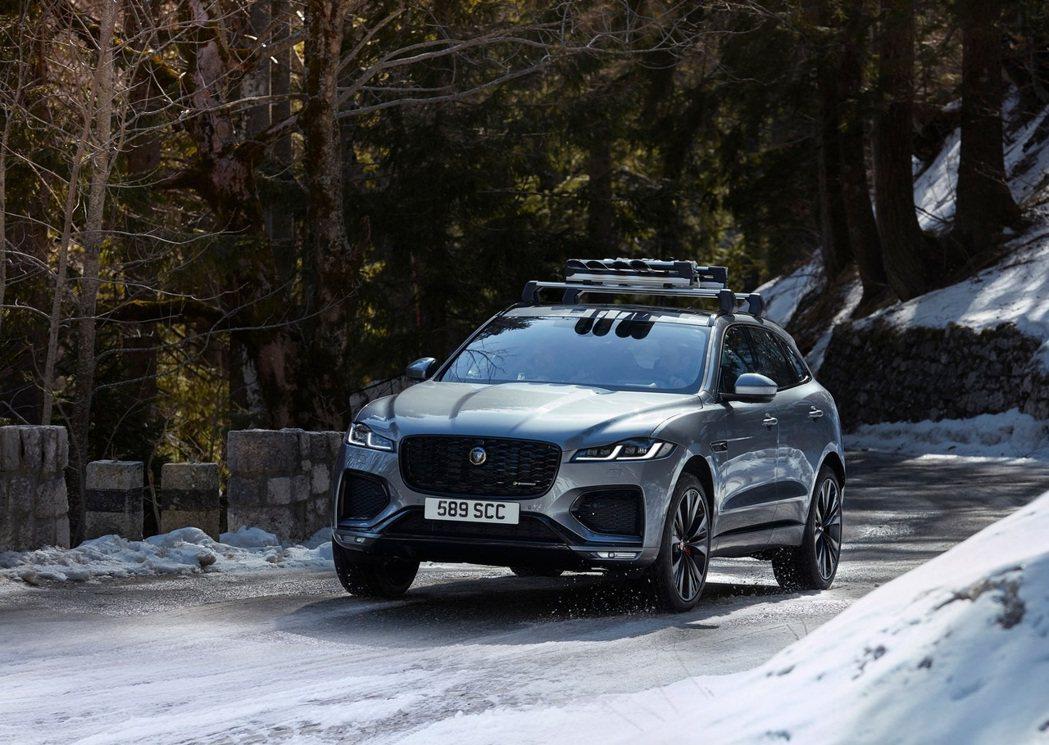2021 Jaguar F-Pace徹底跨進油電世代。 摘自Jaguar