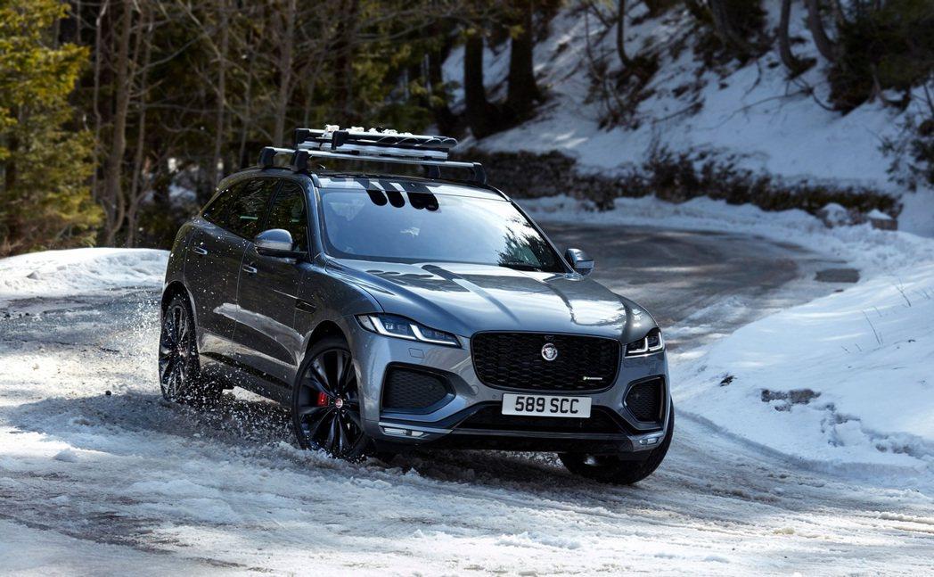 2021 Jaguar F-Pace。 摘自Jaguar