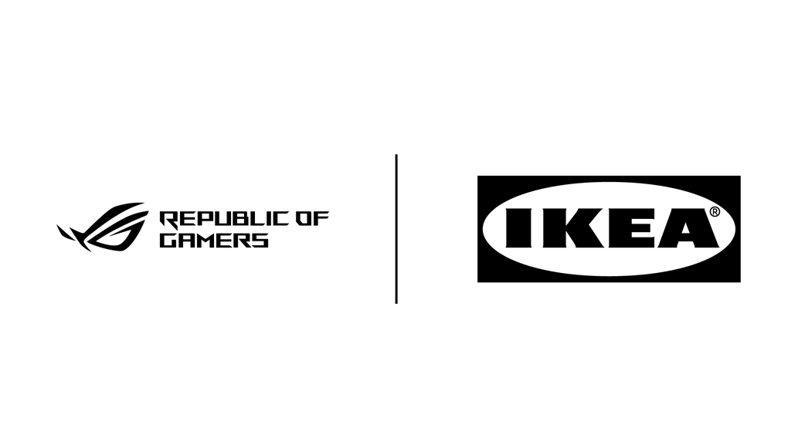 IKEA宣布與ROG合作 將推出一系列為遊戲玩家打造的家具周邊