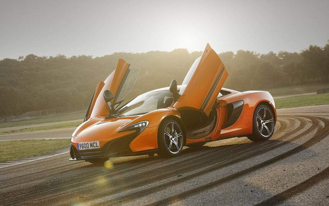 McLaren 650S。 摘自McLaren