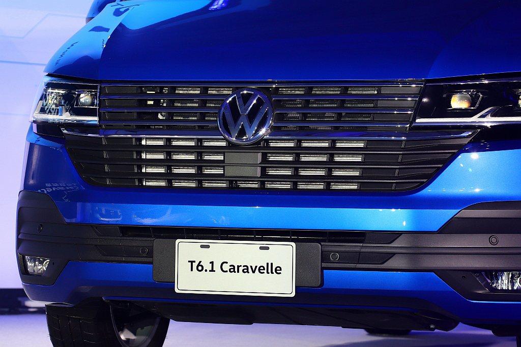 福斯商旅T6.1 Caravelle自199車型起搭配「IQ.DRIVE智能駕駛...