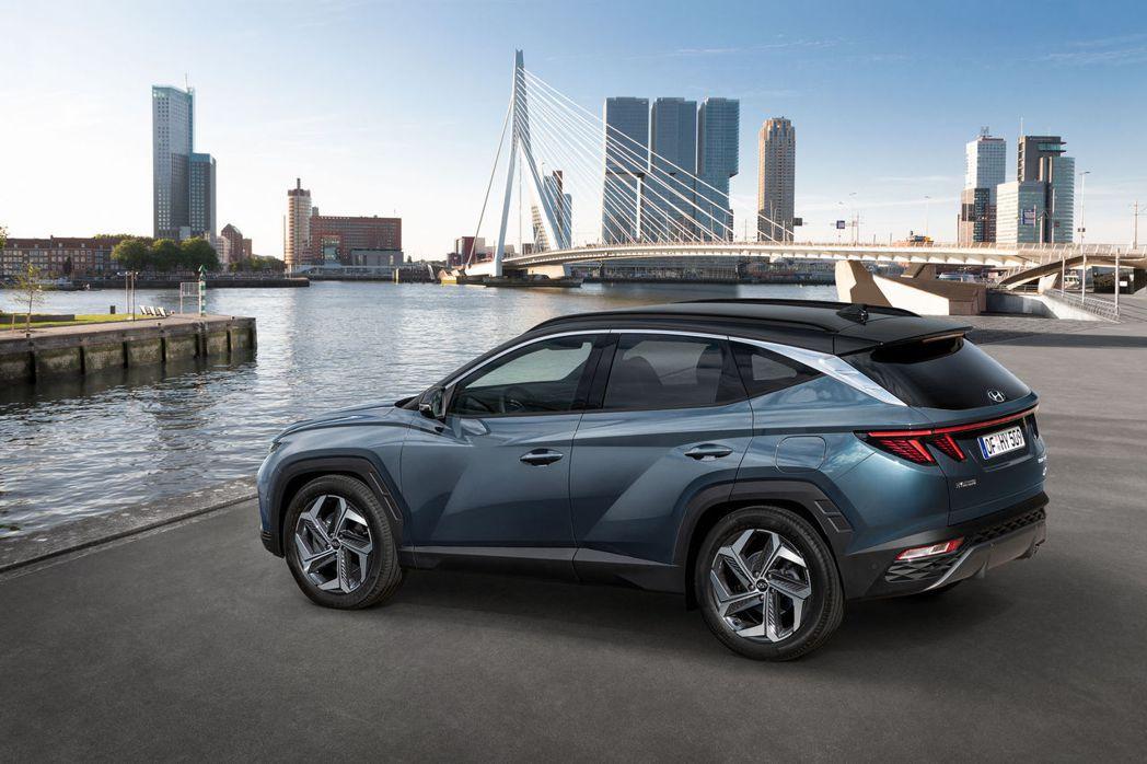 第四代Hyundai Tucson的銷售紀錄擠進品牌銷售榜第三名。 摘自Hyun...