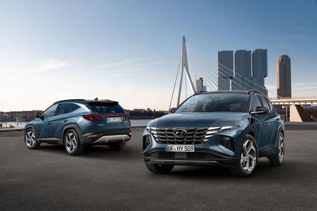 第四代Hyundai Tucson在今日(15)正式亮相。 摘自Hyundai