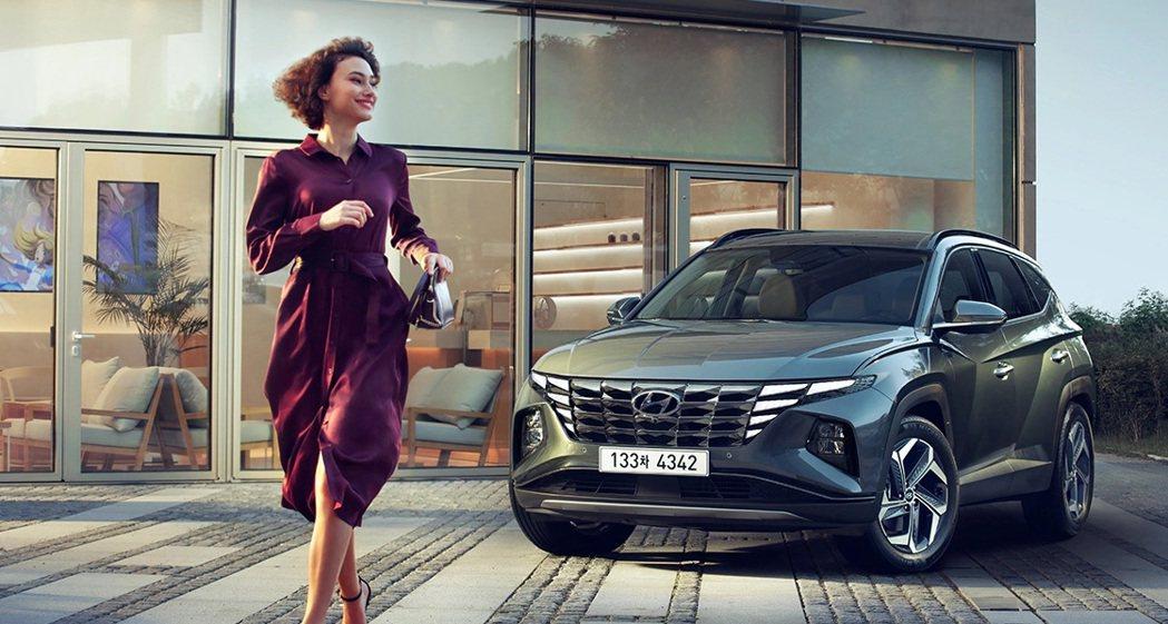 第四代Hyundai Tucson將在本月16日於韓國開始販售。 摘自Hyund...