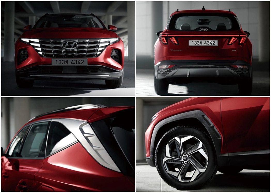 第四代Hyundai Tucson身上有諸多從Vision T Concept概...