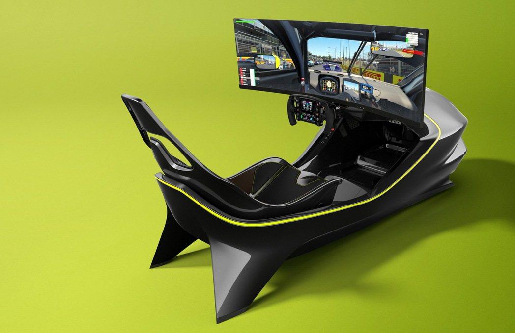 AMR-C01 Racing Sim。 摘自Aston Martin