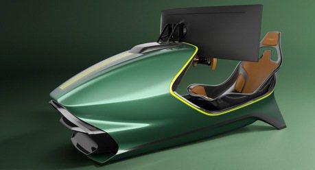 Aston Martin推出要價200多萬台幣的豪華賽車模擬器AMR-C01 Racing Sim!
