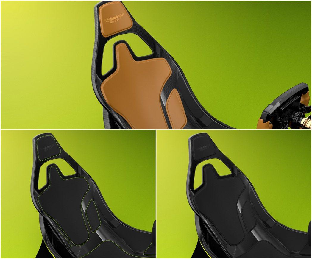 就連座椅材質配色也是比照真車挑選樣式。 摘自Aston Martin