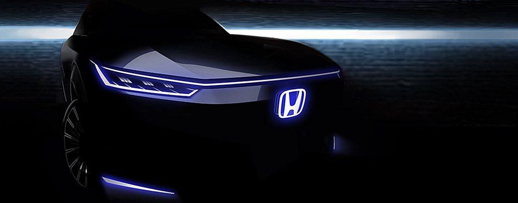 Honda汽車於北京車展的重點之一,專為中國市場打造的新電動概念車。 圖/Hon...