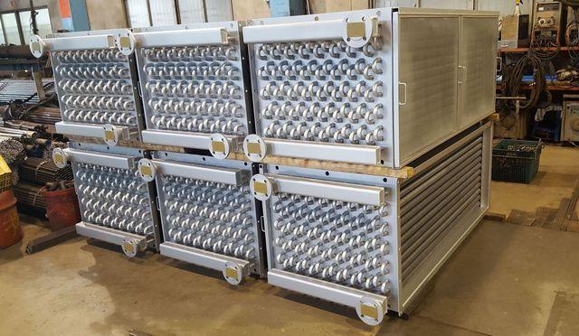 啟碩熱能公司推出新型熱交換器(一)。 啟碩/提供