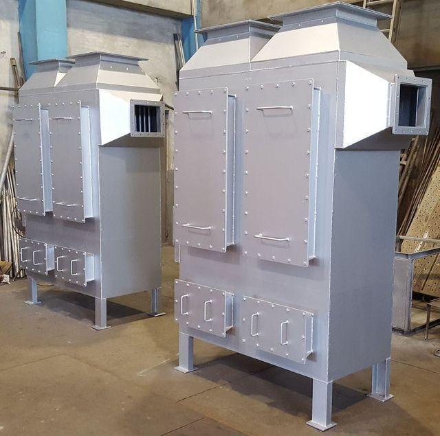 啟碩推出新型廢氣回收熱交換器。 啟碩/提供