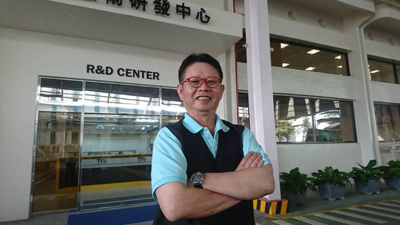 東陽總裁吳永祥。 記者黃淑惠攝影/報系資料照