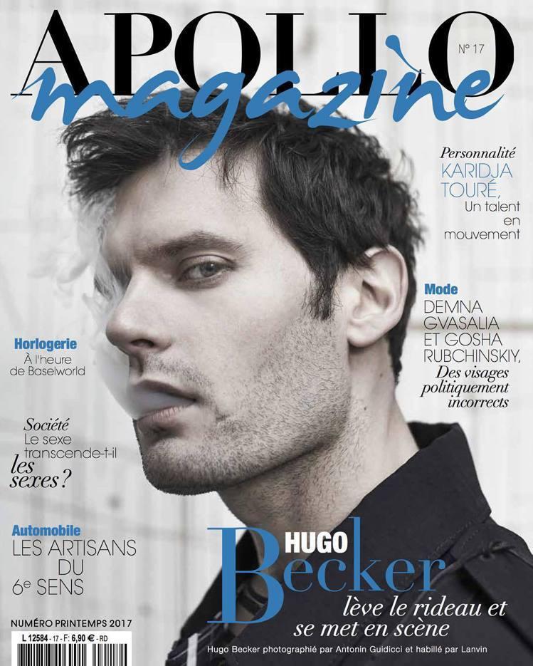 目前身兼導演和演員的Hugo Becker,曾登歐美生活風格雜誌封面。圖 / 翻...
