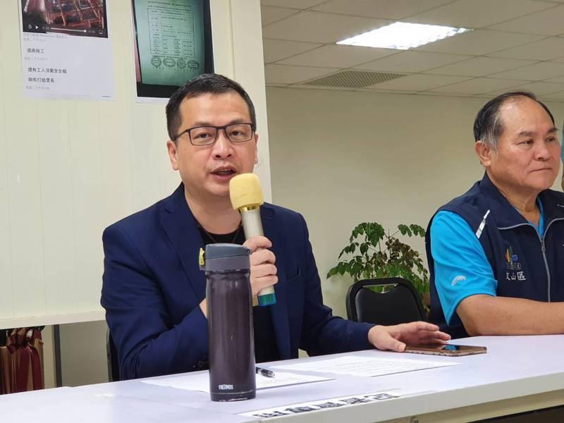 台北市議員羅智強。圖報系資料照。