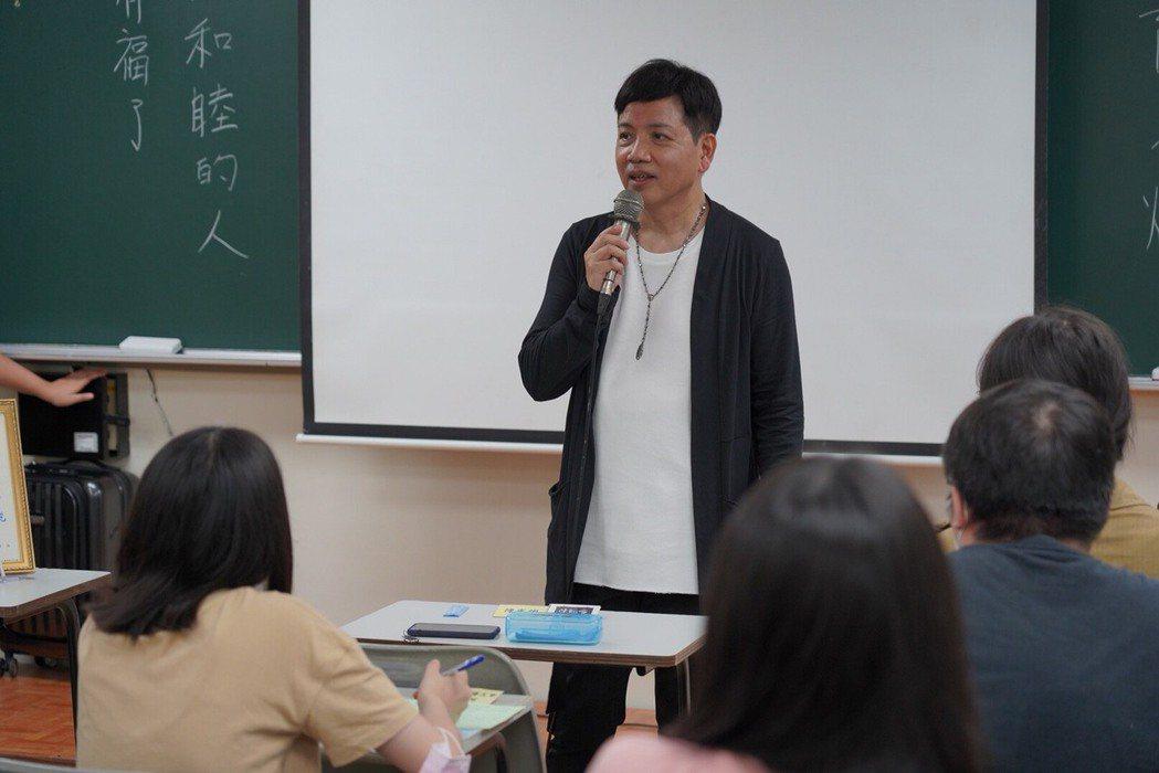 陳凱倫到世新大學任教。圖/陳凱倫提供