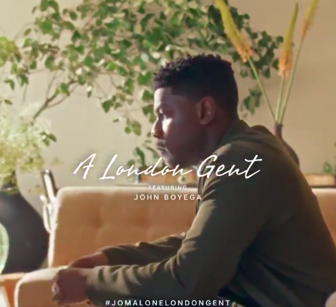 John Boyega為Jo Malone London拍攝形象影片,卻被大陸代...