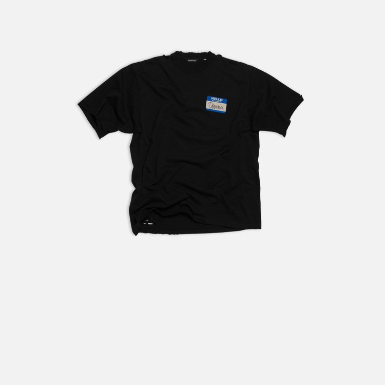 短袖T-shirt,19,500元。圖/BALENCIAGA提供