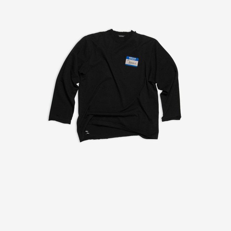 長袖T-shirt,20,900元。圖/BALENCIAGA提供