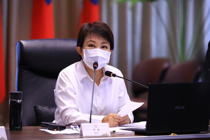 台中市長盧秀燕對台中購物節大表滿意。記者陳秋雲/攝影