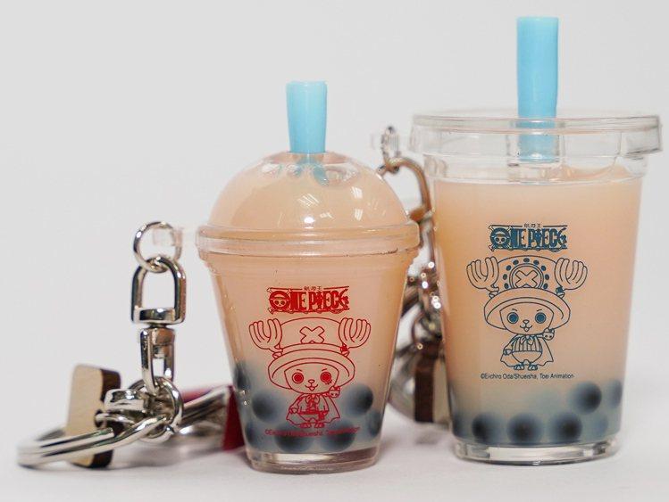 喬巴超人珍珠奶茶吊飾150元。圖/主辦單位提供