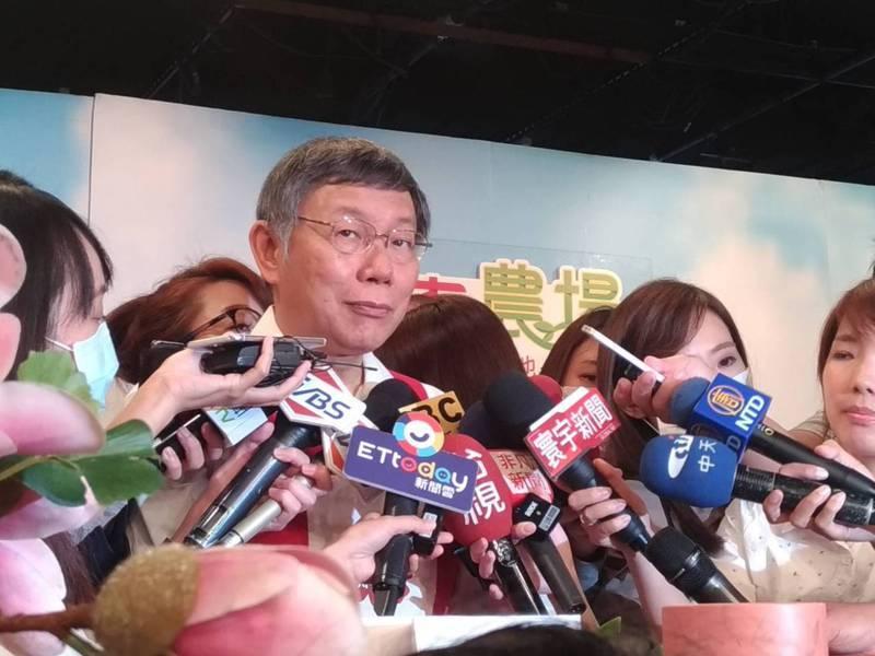 國民黨昨天宣布不以政黨名義出席今年海峽論壇,台北市長柯文哲今天表示,這僅證明一件事,兩岸互信很差,兩岸之間目前完全沒有互信。記者林麗玉/攝影