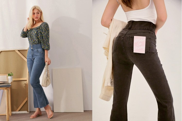 AIR SPACE推出有5項專利加持的褲款,號稱穿上後具有修身、翹臀、細腰、顯腿...