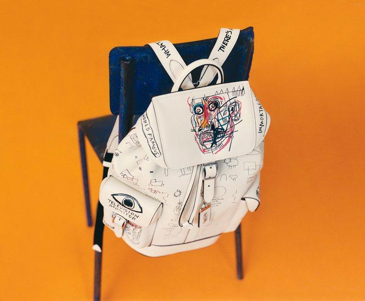 COACH X Jean-Michel Basquiat系列詢問度相當高。圖/C...