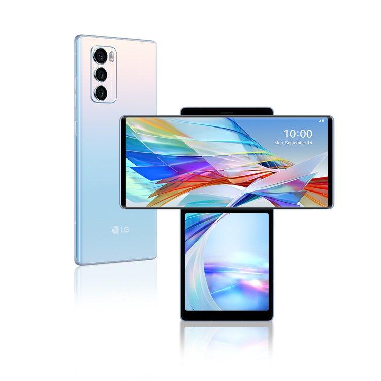LG首款Explorer Project系列手機LG WING,搭載20.5:9...