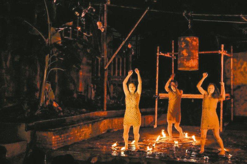 磷火之海——一支舞的紀事。(圖/曹禹辰攝影)