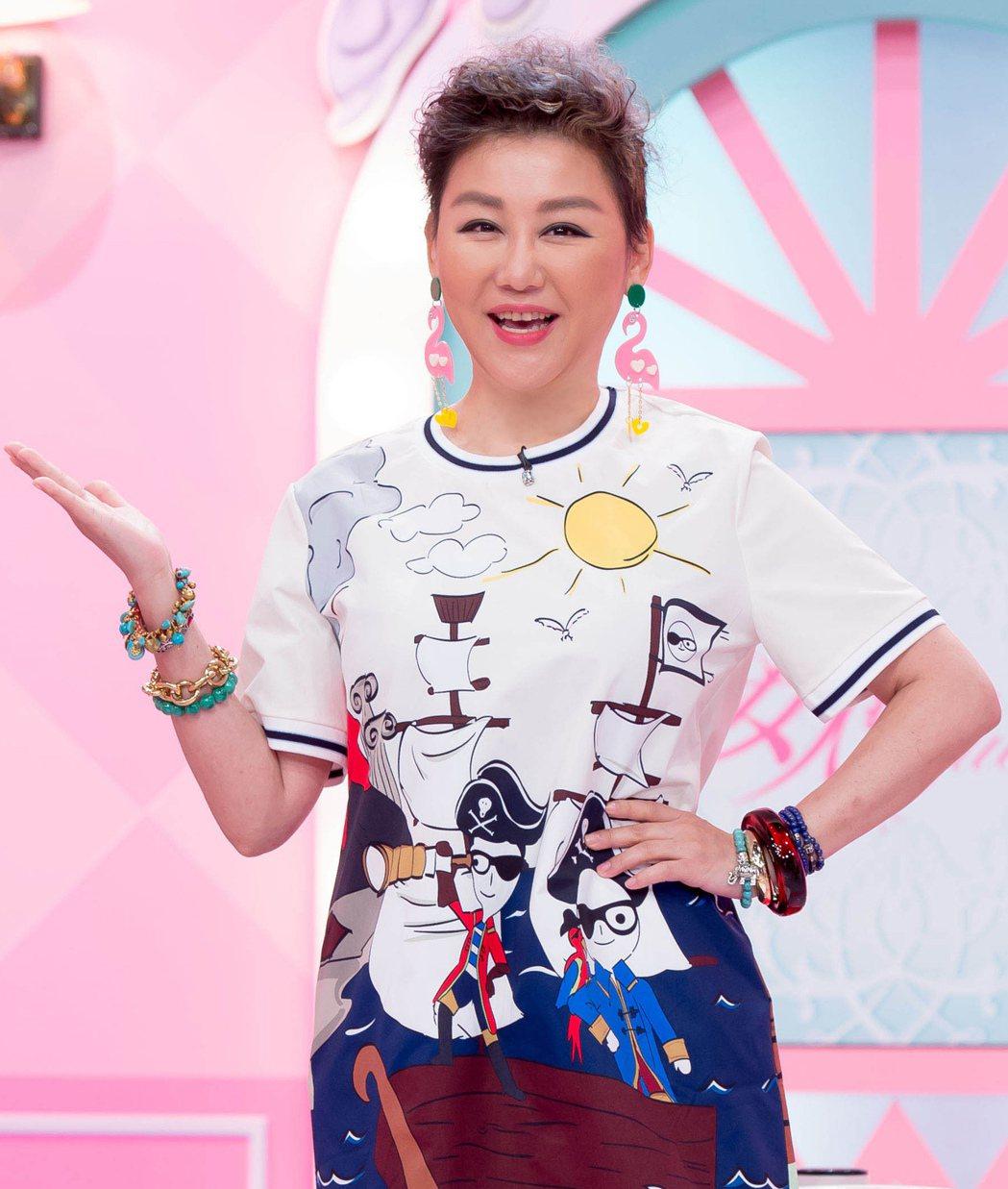 藍心湄將在「粉美賞」典禮當天秀出18歲嫩照。圖/TVBS提供