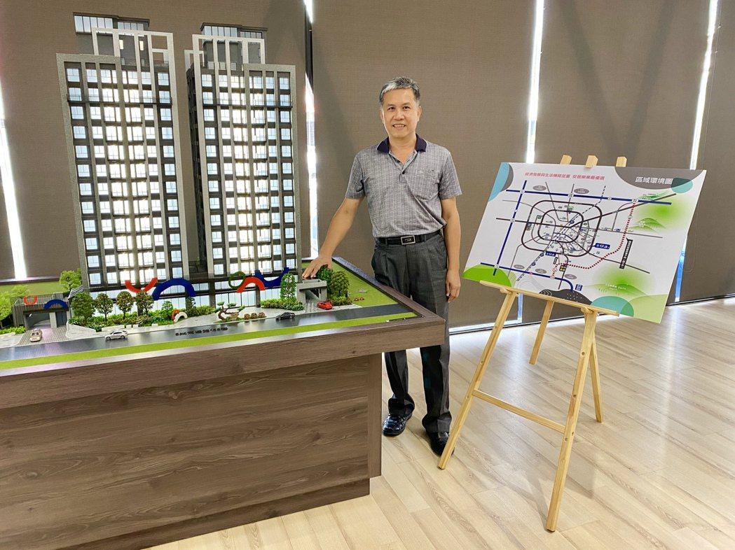 米羅生活科技開發總經理林政權指出,豐原近幾年交通建設陸續到位,房市需求增溫,「米...