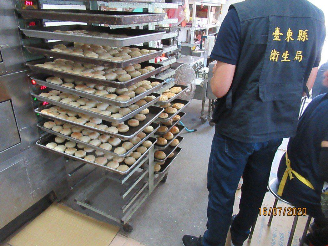 台東縣衛生局日前執行秋節糕餅與應景食材抽驗。圖/台東縣衛生局提供