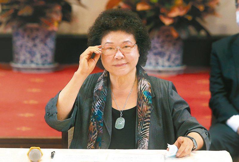 監察院長陳菊。圖/聯合報系資料照片