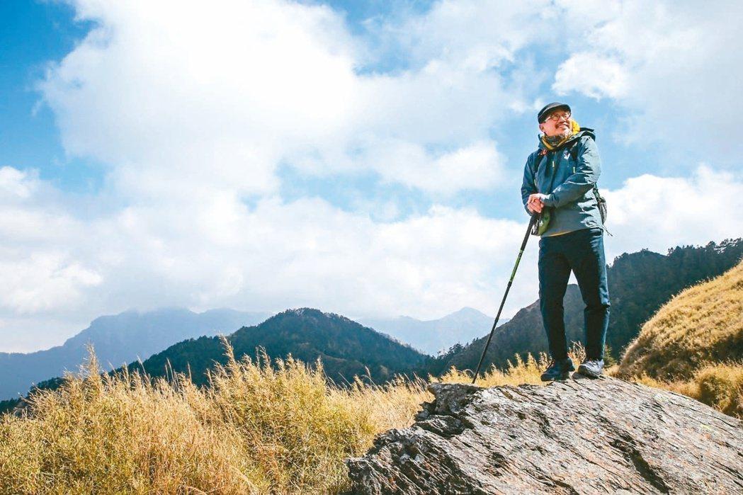 詹偉雄喜歡登高山,曾說冒險能開拓創造性,但也需要做足準備。 圖/聯合報系資料庫