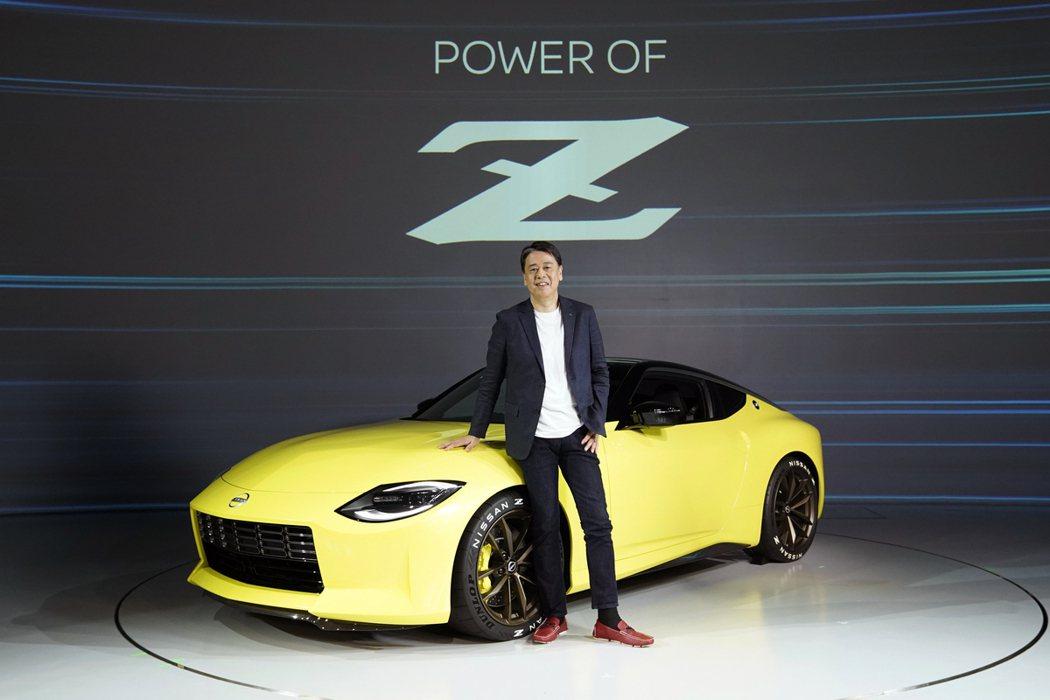 Nissan執行長內田誠親自主持Z Proto發表。 摘自Nissan