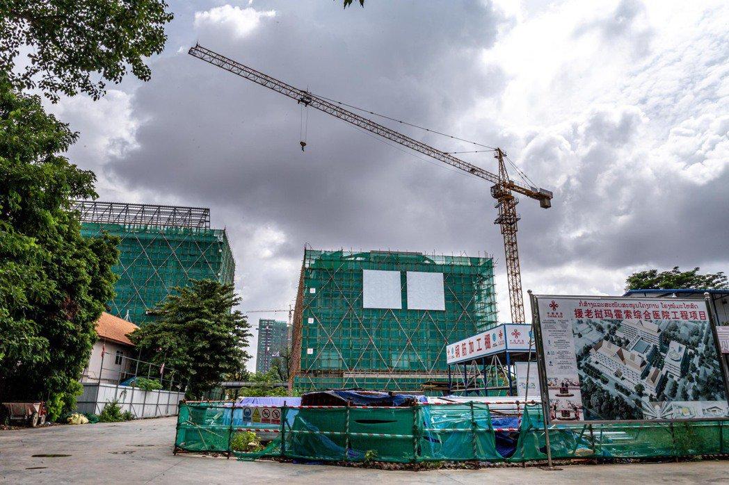 位於寮國首都永珍的馬豪索綜合醫院,也是獲得中國援助興建的計畫之一。 圖/新華社