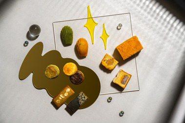 人氣瑪德蓮經典復刻!板橋名店「點點甜甜」推出流金月相中秋禮盒